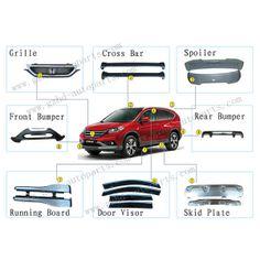 Factory professional accessories for honda crv/cr-v 2012 car part $1~$2    #hondaCRV #Honda #HondaCars