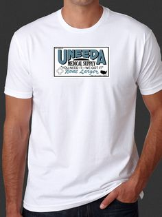 Return Of The Living Dead Uneeda Medical Supplies Zombie White T-shirt S-6xl by SinisterCrypt on Etsy