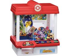 Pokemon Crane Game - The Pokemon Crane Game is your very own mini UFO-catcher game machine, just like the ones you find in Japanese game center arcades. You start by inserting a coin and then you must use the two buttons to pick up a Pokemon toy. Test your skill at bringing the claw down accurately and retrieving your ...