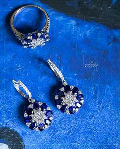 Роскошный комплект из белого золота с сапфирами и бриллиантами от #Giancarlogioielli станет поистине прекрасным подарком который оценит абсолютно любая представительница прекрасного пола независимо от ее возраста! Белое золото 1181 грамм проба - 750  Бриллианты - 223 карат /125 шт. Сапфиры- 834 карат/24 шт.  #jewelry #diamonds #ring #pendant #earrings #beauty #sapphire #women #giancarlogioielli #vscogood #vscobaku #vscocam #vscobaku #vscoazerbaijan #instadaily #bakupeople #bakulife…