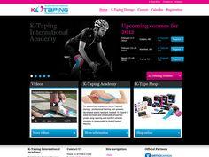 K-Taping Academy. K Tape, Portfolio Website Design, Commerce, Abs, Web Development, Digital Marketing, Abdominal Muscles, Six Pack Abs
