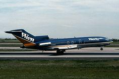 Wien Air Alaska Boeing 727-22C N496WC touching down, July 1982. (Photo via Flickr: Ron Monroe)