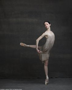 """National Ballet of Canada, The Company Project: Svetlana Lunkina """"There are so many things in life that I would like to experience, but my destiny is to share the power and magic of dance."""" Ballet Beautiful 
