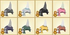 AJ Rhino Helmets. These are an item from the BETA days. They come in colors of gray, silver, black, pink, purple, green, yellow, and brown. These have unfortunately lost their value due to the eagle adventure ''Forgotten Desert'' which allows you to get BETA prizes and earn the rhino helmets.