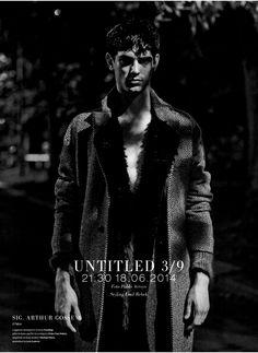 Dondup Wool Coat // L'Officiel Hommes Italia Magazine Man, Wool Coat, Castle, Men, Italy