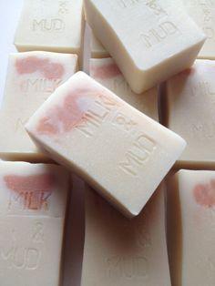 Milk & Mud  vegan soap clay soap cold process by PureHarmonySoaps, $10.00