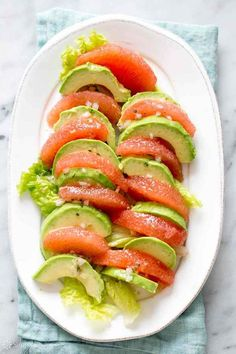 Avocado and grapefruit are a match made in culinary heaven.