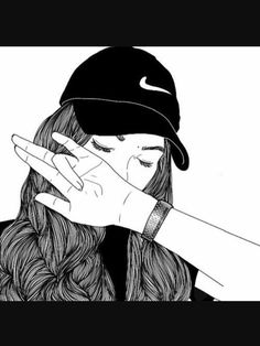 53 meilleures images du tableau filles swag dessin girl drawings pencil drawings et tumblr - Dessin triste ...