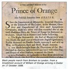 william of orange landed in england