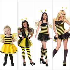 """Pin for Later: The Shocking Evolution of Our Childhood Halloween Costumes Has Us Like, """"WTF?!"""" Bumblebee"""