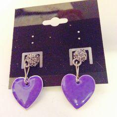 Purple Valentines USA business anniversary by JeriAielloartstore