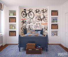 Bicycle wall decorations | pixersize.com / blog