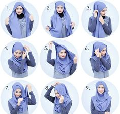 Modern Islamic Hijab Fashion For Special Events