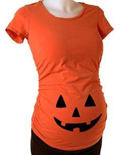 BeWild Brand® - Jack O' Lantern #Pumpkin #Pregnancy Ladies T-shirt #Halloween