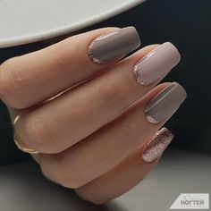 Nagelformen Neue Trends und Designs verschiedener Nagelformen 12 different nail shapes for acrylic nails: from squoval to stiletto, coffin to almond ❤️ What manicure requirements will be in 2018 and what types of nail shapes will be the most popular Elegant Nail Designs, Elegant Nails, Classy Nails, Trendy Nails, Nail Art Designs, Nails Design, Neutral Nail Designs, Romantic Nails, Neutral Nails