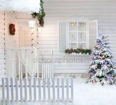 Znalezione obrazy dla zapytania deski kompozytowe białe na ogrodzenie