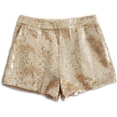 Lucky Brand Sequin Short (2.715 RUB) ❤ liked on Polyvore featuring shorts, bottoms, short, shorts/skirts, gold shorts, gold short shorts, lucky brand shorts, short shorts and sequin shorts