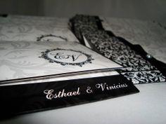 Convite de Casamento E&V