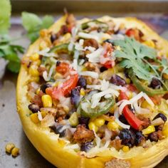 Enjoy The 11 Best Spaghetti Squash Boat Recipes we could find. They made our mouth water! Enjoy The 11 Best Spaghetti Squash Boat Recipes we could find. They made our mouth water! Spaghetti Squash Boat, Best Spaghetti, Spaghetti Squash Recipes, Taco Spaghetti, Healthy Snacks, Healthy Eating, Healthy Recipes, Veggie Recipes, Turkey Recipes