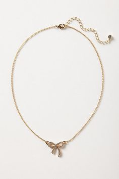 Crystal Trimmings Necklace #anthropologie
