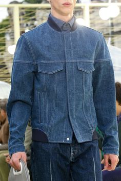 db3b5a0bd4e Kenzo - Spring 2015 Menswear - Look 66 of 79. Denim Bomber Jacket BlousonBrandingDenim ...