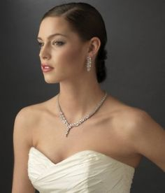 Gorgeous CZ Wedding Jewelry