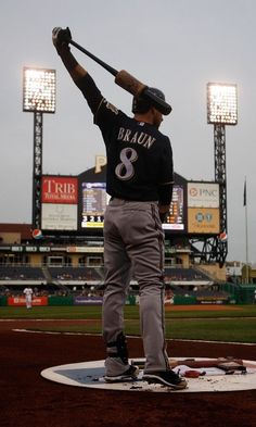 Ryan Braun was drafted by the Milwaukee Brewers in 2005. He made his debut on May 25, 2007 and has played right field for the organization ever since.