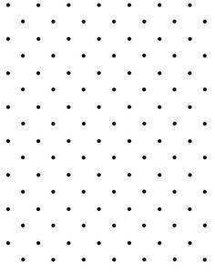 'Polka Dot' Wallpaper by Sugar Paper - Black On White - Removable Panel