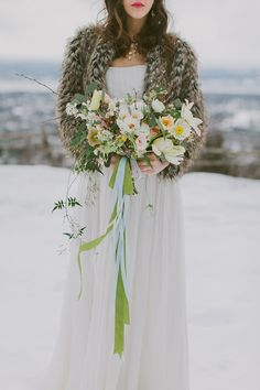 Winter Inspiration by Firefly Events and Fondly Forever