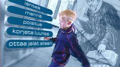 Kuka mikä Kalevala? Kalevalanpäivää vietetään 28.2. Videossa 10 pointtia Väinämöisestä ja kumppaneista. Ota kansalliseepos haltuun! Baseball Cards, Signs, Tv, Sports, Fictional Characters, Shop Signs, Sport, Sign, Tvs