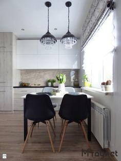 MProyect kuchnia 14m2 - zdjęcie od MProyect small kitchen ideas | inspiration | modern | kitchen | white | scandi desig