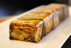 Herbed Vegetable Terrine.