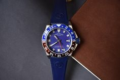 We take a look at Armand Nicolet's new GMT, which represents their newest line in their diver's collection. The GMT was just recently added to their . Pepsi
