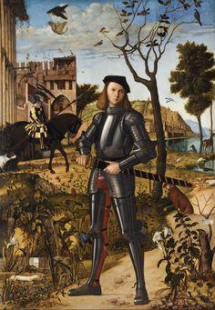 Vittore Carpaccio, Portrait d'un chevalier…