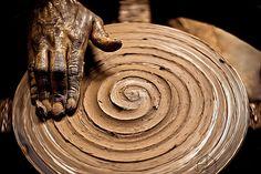 clay spirals