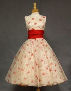 50s red and white