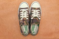PF FLYERS Center Lo Camouflage By Comme Des Garçons « eYe » Junya Watanabe