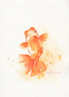 Giclee Prints Watercolors Prendergast | fish print, art, giclee, watercolor, watercolor painting, watercolor ...