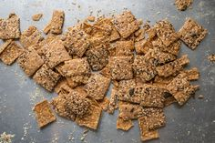 Our delicious spelt crackers made with the simplest of ingredients. Artisan Bread, How To Make Bread, Crackers, Bakery, Tasty, Vegan, Chocolate, Simple, Healthy