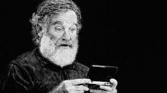 Robin Williams Tribute, Drawn Using A Nintendo Wii U, Is A Work Of Art