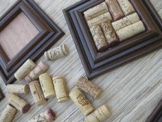 Wine Cork Coaster Set with Pitcher sized coaster too! DIY Craft on Etsy - save your wine corks!