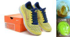 brand new 29944 d1094 Chalcedony Pendant Nike Free 3.0 V4 Womens Lemon Yellow Obsidian Royal  511495 704 Yellow Sneakers,