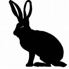 query Rabbit Head, Jack Rabbit, Rabbit Silhouette, Silhouette Art, Deer Antlers, Garden Art, Metal Art, Home Art, Outline