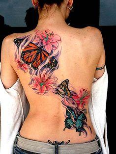 Butterfly Tattoos For Women
