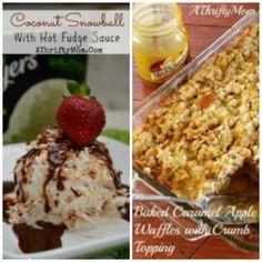 Desserts Coconut sno