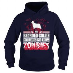 #tshirtsport.com #besttshirt # My Bearded Collie protects me from zombies funny tshirt   My Bearded Collie protects me from zombies funny tshirt  T-shirt & hoodies See more tshirt here: http://tshirtsport.com/