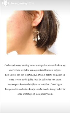 Jewelery, Contemporary, Earrings, Fashion, Jewlery, Ear Rings, Moda, Jewels, Stud Earrings