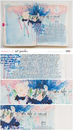 Artjournal by Wilna Furstenberg - one of the Teachers on Wanderlust 2017 class http://www.everything-art.com/Wanderlust2017/