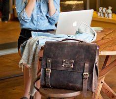 Dirty Harry Leather Bags; if i had the moola! nice & purty.