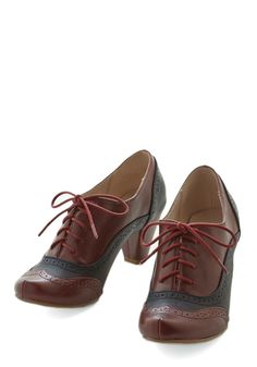 New Arrivals - Cause for Collaboration Heel in Burgundy